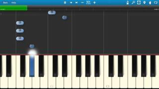 DJ Snake & AlunaGeorge - You Know You Like It - Piano Tutorial - Synthesia - How To Play