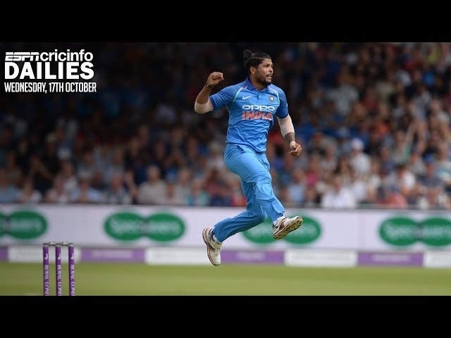 Umesh replaces injured Thakur for first two WI ODIs | Daily Cricket News