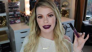 BH Cosmetics Liquid Lipstick Review w/ Check Ins (Icon)