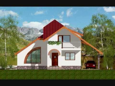 Proiect casa stela youtube for Youtube case cu mansarda