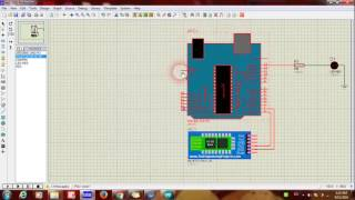 Proteus Simulation for Bluetooth Module