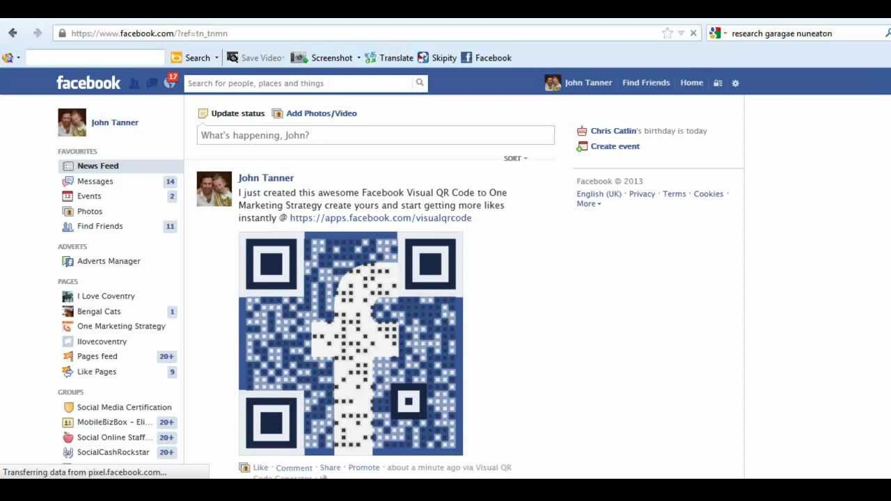 How To Use Qr Codes For Facebook Likes