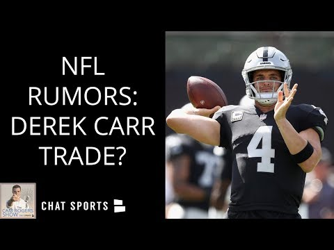 NFL Rumors: Derek Carr Trade, Dez Bryant To Cowboys & Latest On Le'Veon Bell Returning To Steelers