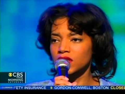 Alice Smith on CBS This Morning 3/9/2013