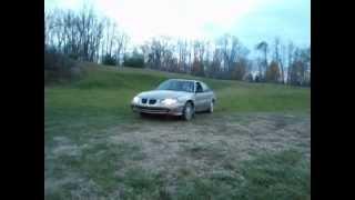 kyler jumping a junk car.....