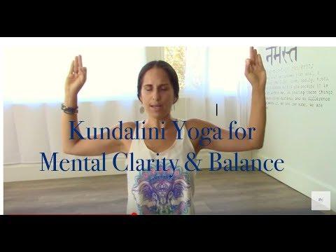 Reduce stress & clear your mind - Kundalini Yoga w/ Noa Lakshmi