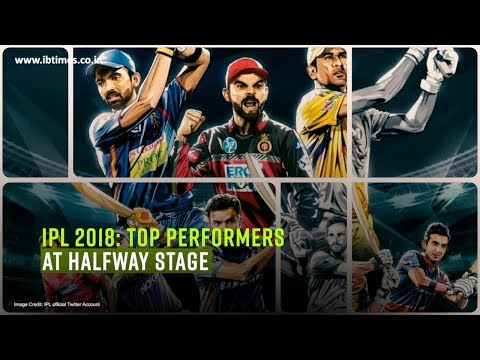IPL 2018 Top performers at halfway stage