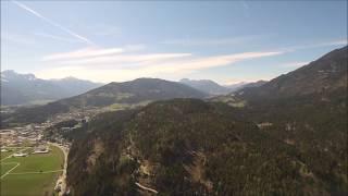 Luftaufnahme aus Hermagor (Schluga Campingplatz Austria)