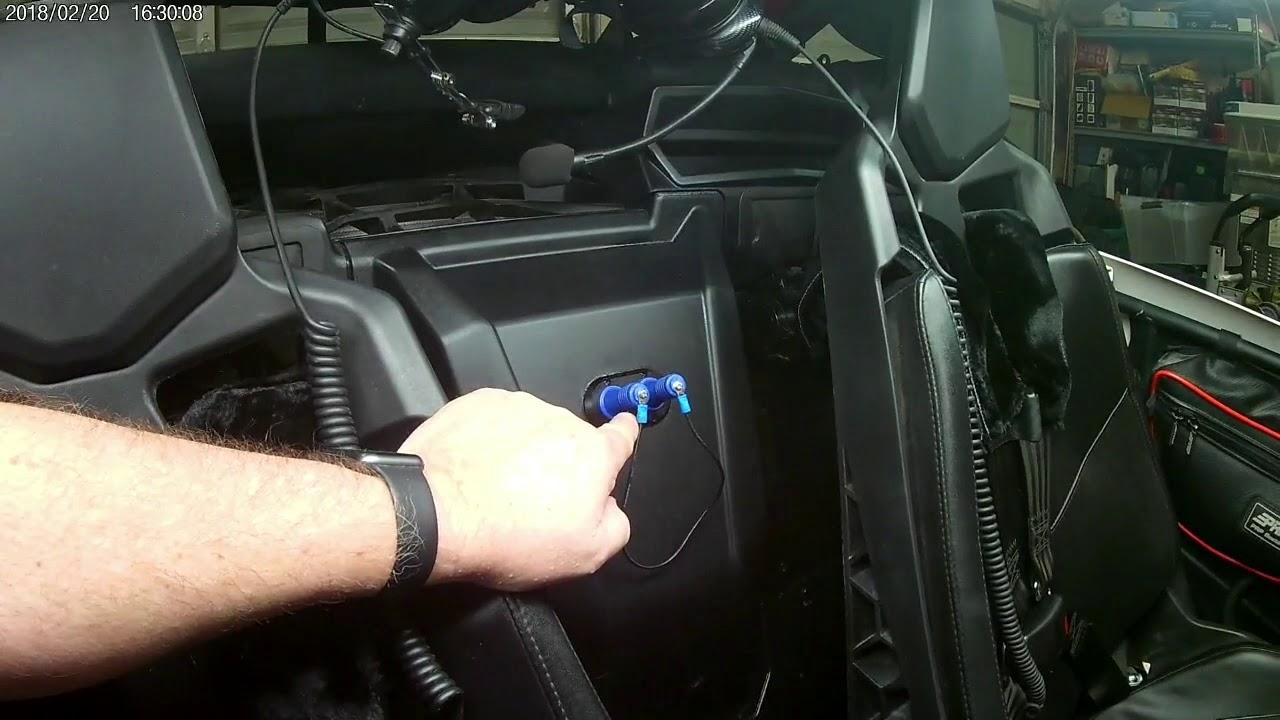 Maverick X3 rugged radios mount install