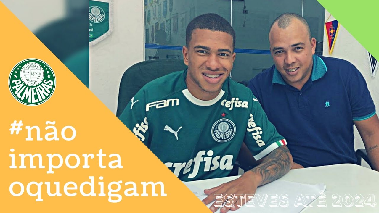Boa Noticia O Lateral Esquerdo Lucas Esteves Renovou Com O Palmeiras Ate 2024 Naoimportaoquedigam Youtube