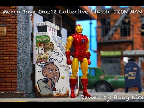 Mezco Toyz One:12 Collective Marvel Iron Man Action Figure