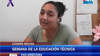 LUCIANA MOLINA   SEMANA DE LA EDUCACION TECNICA