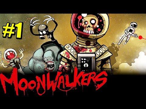 ZOMBIES EN LA LUNA? - ZOMBIE NIGHT TERROR: MOONWALKERS #1 - MONOLITO LUNAR