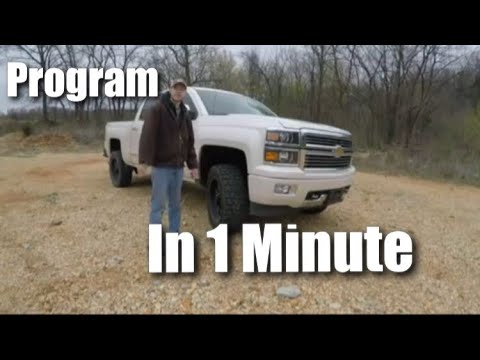 Chevrolet Silverado (Programming Garage Door Opener)