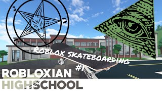 I FOUND A SATANIC RITUAL IN ROBLOXIAN HIGH SCHOOL?! || Roblox Skateboarding #1 || LilCookie000