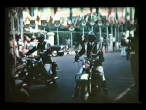 Moçambique, Marcelo Caetano e Baltasar Rebelo de Sousa em Lourenço Marques 1969.wmv