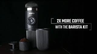 WACACO NANOPRESSO 咖啡膠囊轉接頭 - 雙倍濃縮咖啡組 NS ADAPTER & BARISTA KIT
