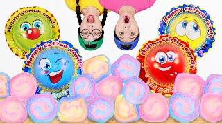 Giant Cotton Candy Mukḃang 대왕 솜사탕 만들기 DONA 도나 먹방