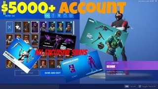 Route vers MOST 'OG' FORTNITE ACCOUNT