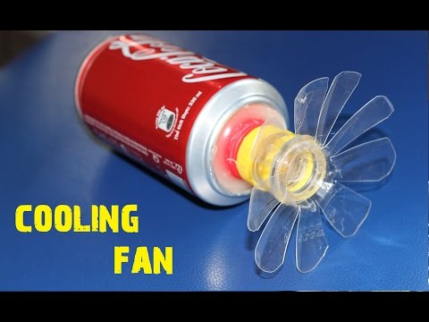 Amazing Life Hacks -How To Make A Cooling Fan