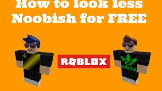 How to look cool on Roblox! (No robux) BOYS ONLY!!!