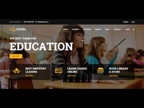 Education WordPress theme _ Education WP – Review theme