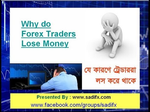 Forex trading who are lose money
