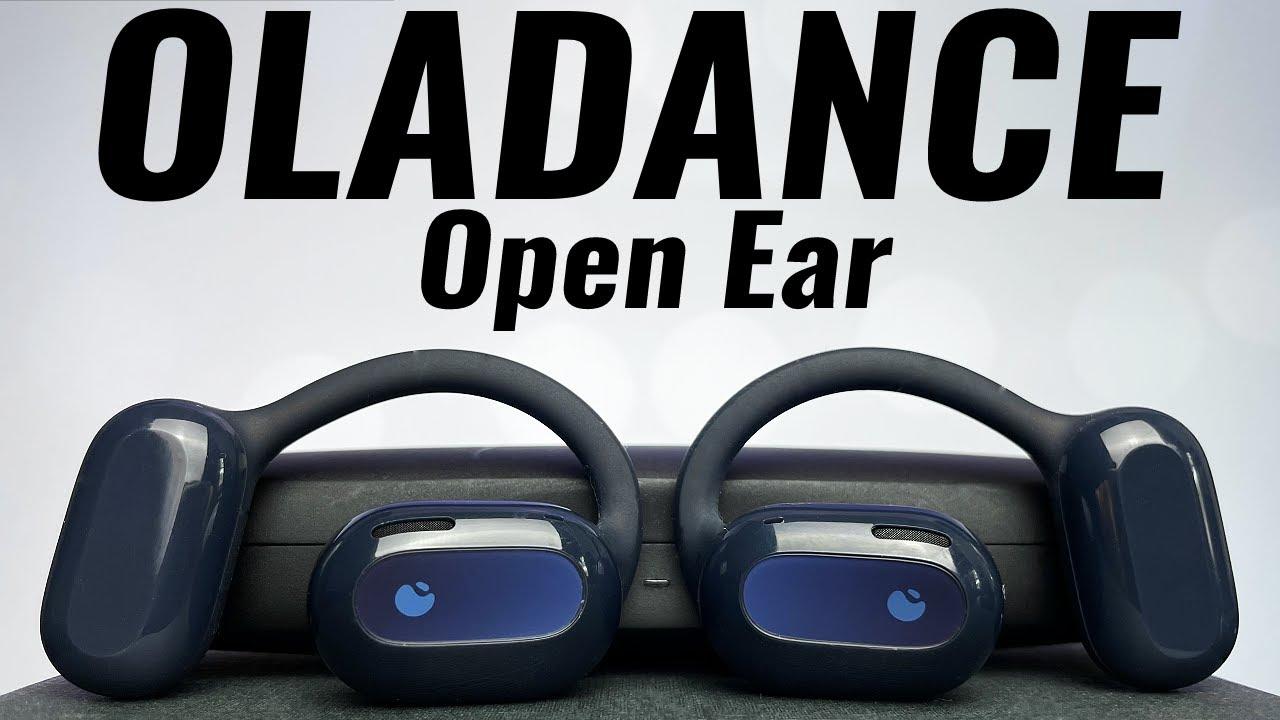 UNRIVALLED COMFORT! Oladance Wearable Stereo Open-Ear True Wireless