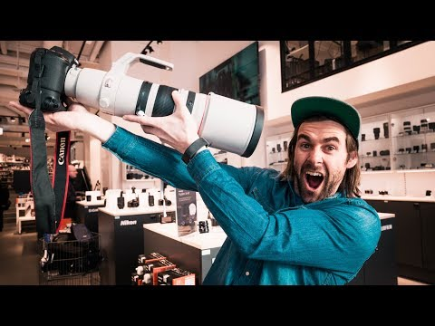 OVERDRIVE CAMERA SHOPPING IN STOCKHOLM 😂  |  VLOG 21