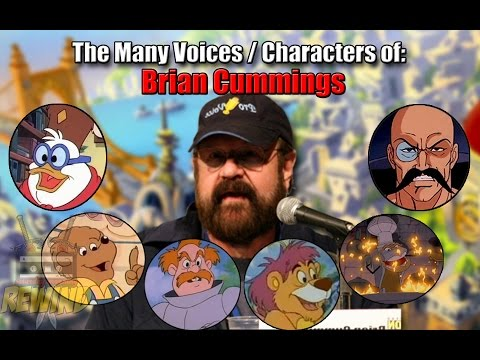 The Many Voices and Characters of Brian Cummings Cartoon Voice Actor