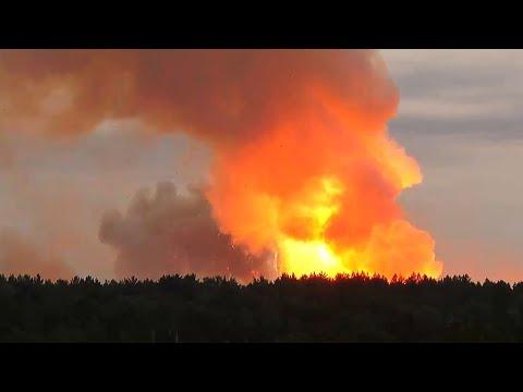 Военный эксперт о взрывах боеприпасов в Ачинском районе