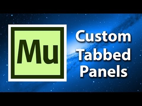 Adobe Muse CC Tutorial - Creating Tabbed Panels