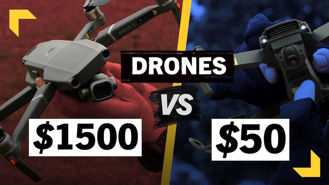 $50 Knockoff Drone Better Than DJI Mavic 2 Pro?