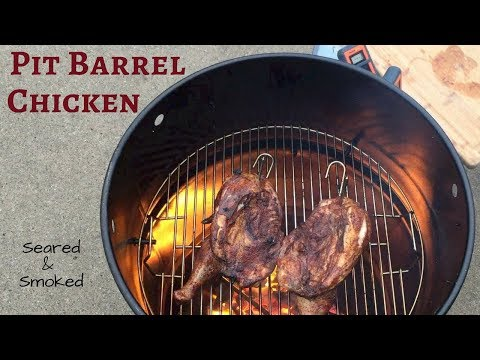 Smoked Chicken Halves on the Pit Barrel Cooker
