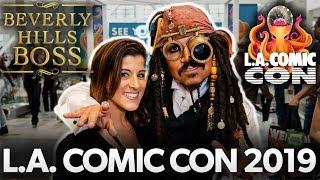 Comic Con LA 19 | How to PR BIG EVENTS!!!