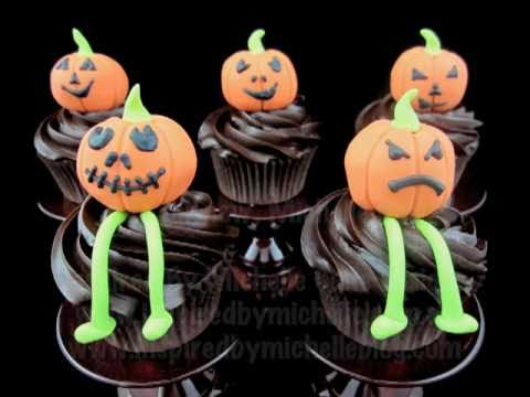 halloween cupcake decorating tutorial httpwwwinspiredbymichellecomau