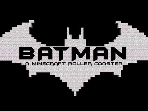 Minecraft Roller Coaster - BATMAN (Best Minecraft Roller Coaster Stop Motion) by CarnageTheCreator