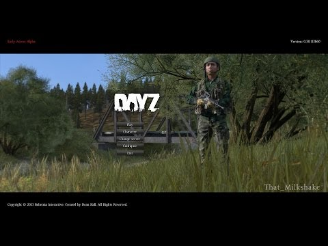 Force Feeding a Hostage Bandit Disinfectant Spray - DayZ