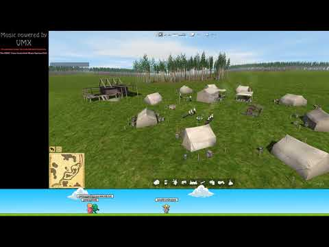 Ostriv the Game 001 - First Livestream The First Summer - Building the Starter Houses
