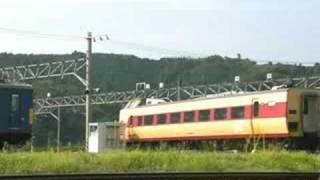 JR381系電車 クハ381(国鉄色)方向転換