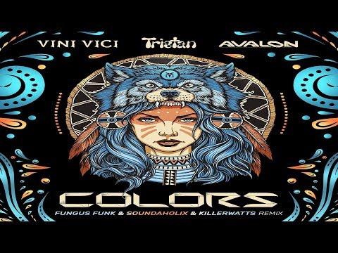 Vini Vici & Tristan & Avalon - Colors (Soundaholix Remix) ᴴᴰ