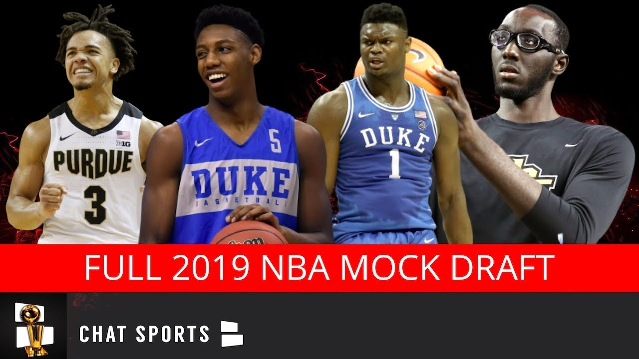 NBA Draft 2019: How to watch live tonight, start time, draft order and top picks