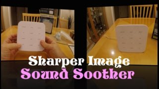 Sharper Image Sound Soother Digital with and headphone jack