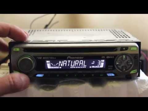 Pioneer DEH-4700MP Radio & (MP3) CD player