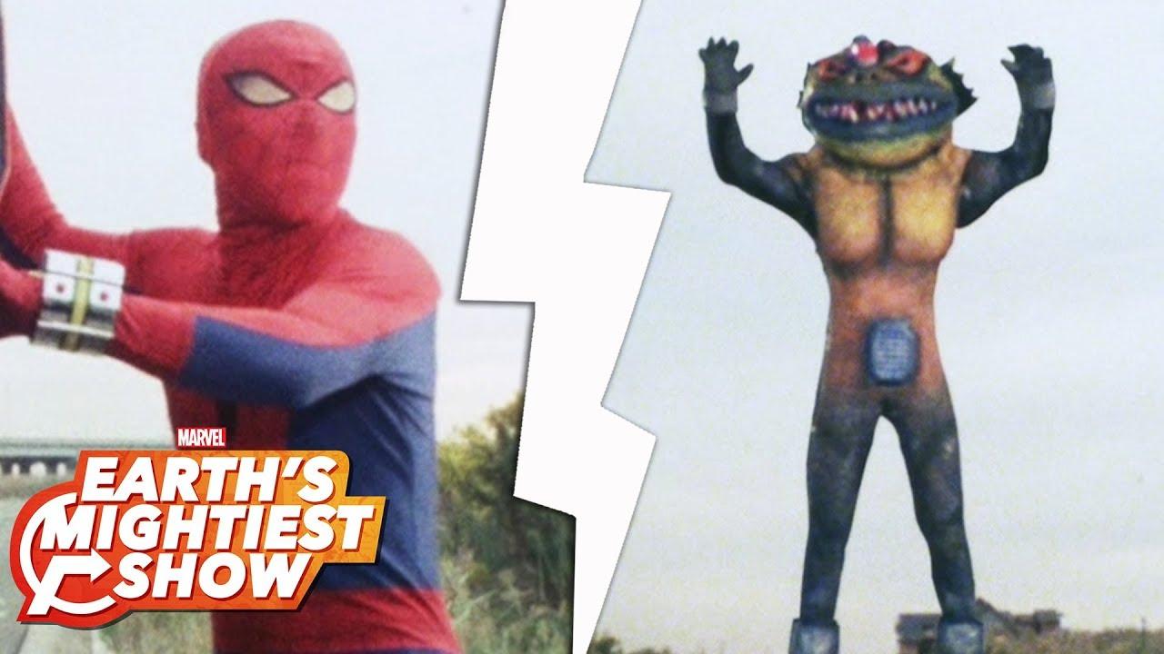 The amazing 1970s kaiju of Toei Spider-Man   Earth's Mightiest Show Bonus