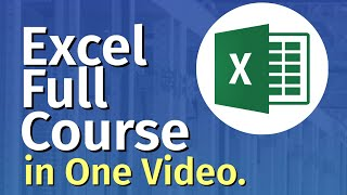 Microsoft Excel Tutorial For Beginners | Excel Training | FREE Online Excel Course (2021)