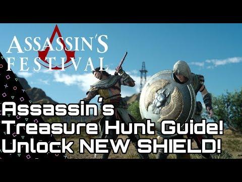 Final Fantasy XV Assassin's Treasure Hunt Guide + Medjay Assassin's Shield!