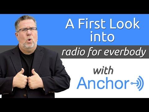 Anchor.fm - A New Social Platform for Broadcasting Audio