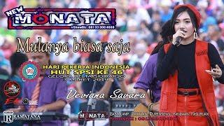 Download lagu MULANYA BIASA SAJA - DEVIANA SAVARA - NEW MONATA - RAMAYANA AUDIO