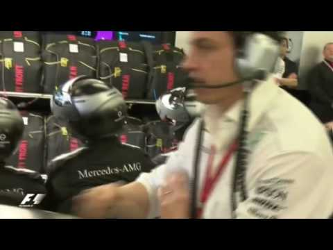 Toto Wolff Slams Table ***REMIX EDITION***